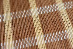 texture crocheted napkin for tableware in a cafe royalty free stock photo