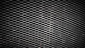 Texture croisée en métal Photos libres de droits