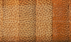 Texture of the cross section of bamboo fiber board royalty free stock photography