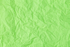 Texture of crumpled Green paper. Texture, background, scrub-booking with mint Green paper Stock Images
