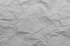 Texture of Crumpled Paper. Texture of crumpled natural paper for texture background used Royalty Free Stock Photo