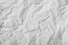 Texture of crumpled paper Stock Photography
