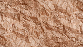 Texture crumpled paper Royalty Free Stock Photo