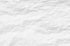 Texture crumpled paper 3 Royalty Free Stock Photos