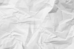 Texture crumpled paper 4 Royalty Free Stock Photography