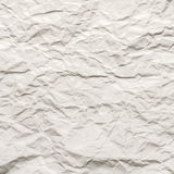 Texture of crumpled paper Stock Images