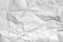 The texture of crumpled paper for background Royalty Free Stock Photos