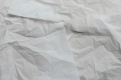 Texture of Crumpled Paper. Texture of crumpled natural paper for texture background used Royalty Free Stock Photography