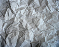 Texture of crumpled paper. Vector illustration Royalty Free Stock Images