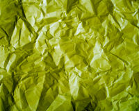 Texture of crumpled paper. Vector illustration Stock Photo