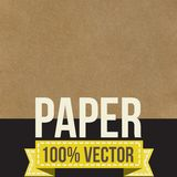 Texture of crumpled paper. Vector illustration. Royalty Free Stock Photo