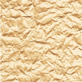 Texture of crumpled paper Royalty Free Stock Photo