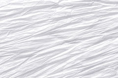 Texture of crumpled paper, white background Stock Images