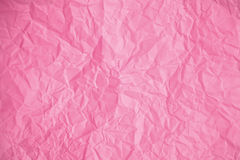 Texture of crumpled Pink paper. Texture, background, scrub-booking with mint Pink paper Stock Photography