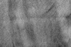 Texture of the crumpled silk fabric black color Royalty Free Stock Photo