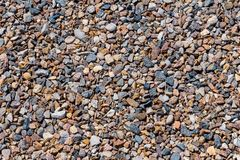 Texture of crushed stone royalty free stock image