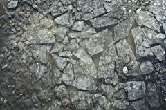 Texture of crushed ice Stock Photo