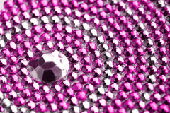 Texture with crystals Royalty Free Stock Photo