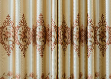 Texture of curtain or drapery. For background Royalty Free Stock Photography