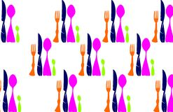 Texture Cutlery Stock Image