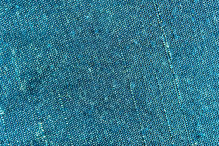Texture of cyan fabric Royalty Free Stock Image