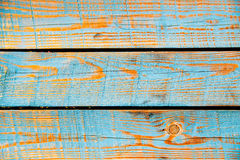Texture of cyan painted wood Royalty Free Stock Photo
