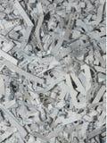 Texture déchiquetée de papier de bureau Photo stock