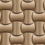 Texture décorative abstraite - fond sans couture - tapotement de panneautage Photo libre de droits