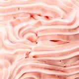 Texture décorative de fond de crème glacée de baie Image libre de droits