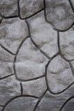 Texture décorative géométrique de modèle sur le mur en béton de ciment Image libre de droits
