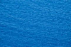 Texture détaillée de l'eau de mer Photos stock