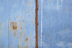 Texture détaillée de mur grunge rouillé en métal photo stock