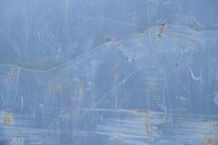 Texture détaillée de mur grunge rouillé en métal images libres de droits