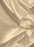 Texture d'or élégante douce de soie ou de satin comme fond Dans le Se Photographie stock