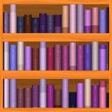 Texture d'étagère de bois brun Illustration Libre de Droits