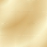 Texture d'or Image stock