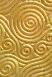 Texture d'or photographie stock libre de droits
