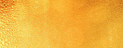 Texture d'or Photo stock