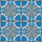 Texture d'abrégé sur gris bleu Tuile sans couture carrée Illustration simple de fond Modèle d'impression de textile Conception à  illustration libre de droits