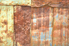 Texture d'Abstrac sur le tambour de fer Images stock