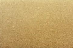 Texture d'acier en métal d'or, fond abstrait Photos libres de droits