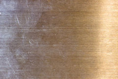 Texture d'acier inoxydable Photographie stock