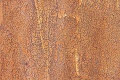 Texture d'acier rouillé Photographie stock libre de droits