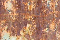Texture d'acier rouillé Images stock