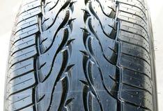 Texture d'amorçage de pneu Photographie stock