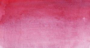 Texture d'aquarelle de Bourgogne Photographie stock libre de droits