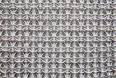 Texture d'armure à chaînes Photographie stock libre de droits