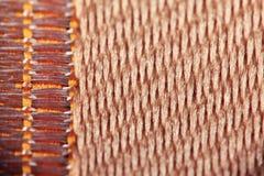 Texture d'armure de tissu de laine Image libre de droits