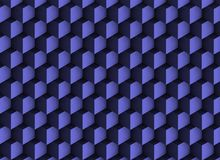 texture 3d bleue avec des ombres et des cubes Illustration de Vecteur