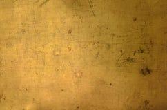 Texture d'or de mur pour l'usage comme fond Photo libre de droits